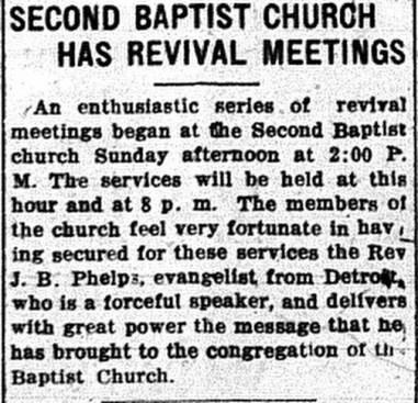 September 15, 1919. Daily Press.