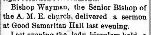 May 23, 1895. Ypsilantian.