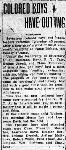 August 9, 1919. Daily Press.