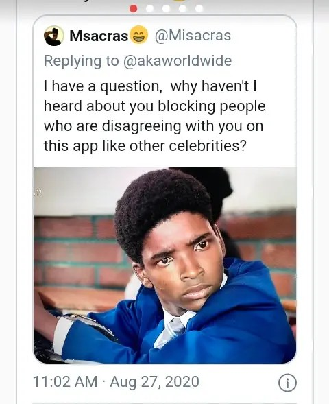 Question to AKA
