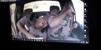 Video of two security guards killed for their firearms, South Africa