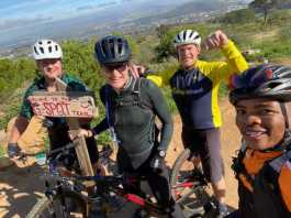 Local MTB Racing Team proudly offers guided MTB tours of Stellenbosch