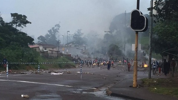Protests flareup in Mayville Durban