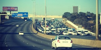 Why did authorities allow taxis to block the roads? Photo: Arrive Alive