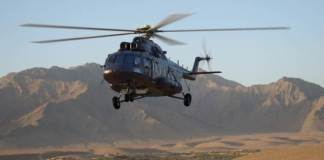 The Mi-171 helicopter with the VK-2500-03 engine certified in China
