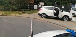 Police in shootout with criminals, Durban North. Photo: SAPS