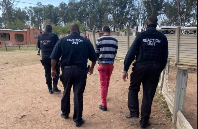 Suspect arrested for rape of 12 year old neighbour. Photo: RUSA