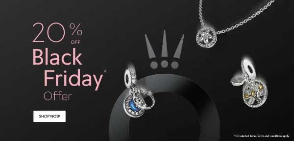 The Pandora Black Friday Offer