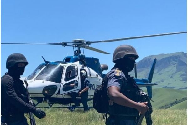 Manhunt in Mpheni mountains after Christmas day killing of 8 villagers. Photo: SAPS