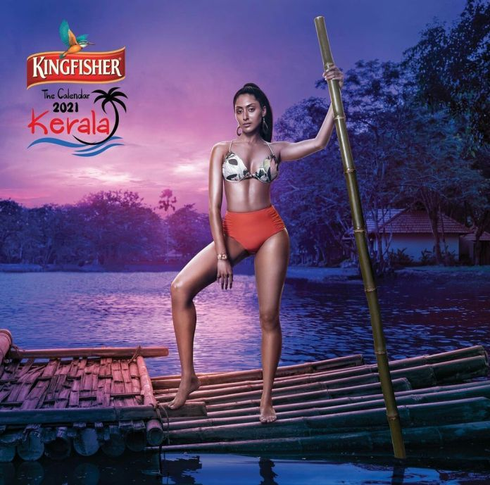A still image of Indian model Krithika Babu