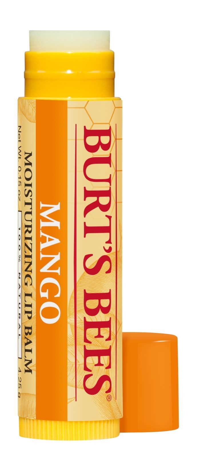 Burt's Bees Mango Butter Moisturizing Lip Balm to save mask-weary lips