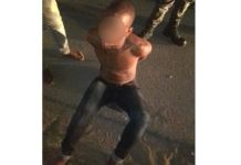 Rape of girl (5), suspect attacked by mob, Tongaat. Photo: RUSA