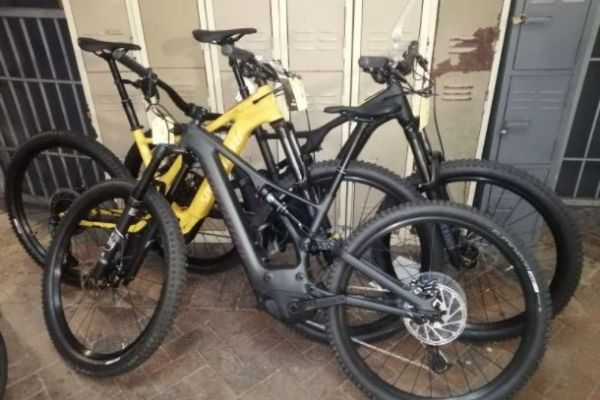 R850k worth of stolen bicycles recovered, robber shot, Table View. Photo: SAPS