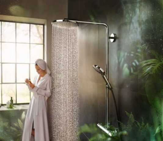 Hansgrohe's PowderRain - discover the self-care you deserve