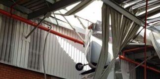 Lucky escape following light aircraft crash, Alberton. Photo: Arrive Alive