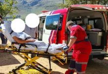 Farm attack, elderly woman shot in the head, Paarl. Photo: DFW