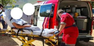 Farm attack, elderly woman shot in the head, Paarl. Photo: DFW