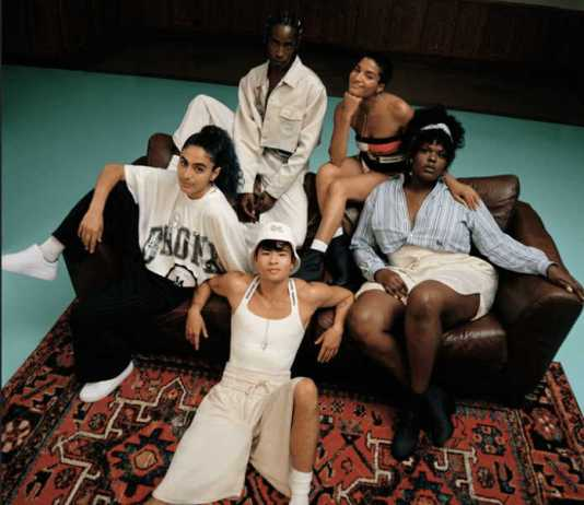 Tommy Hilfiger and actor and activist, Indya Moore co-design gender fluid capsule collection