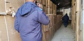 Arrest for R10 million worth of tobacco and bribery, East London. Photo: SAPS