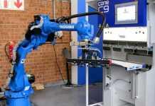 Press Brakes and Robotics: Bending the Future of Metal Fabrication