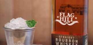 Flag Hill distillery's Straight Bourbon Whiskey