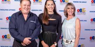 Neil Wilkinson, Tatjana Schoenmaker and Heather Wilkinson