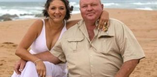 Injured farmer and well known 'farm attack' activist needs urgent help. Photo: Facebook. Barend with his wife Simone