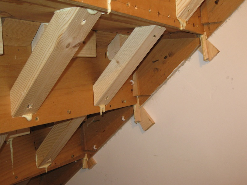 Understair Storage and Fixing Squeaky Stairs  Carpentry