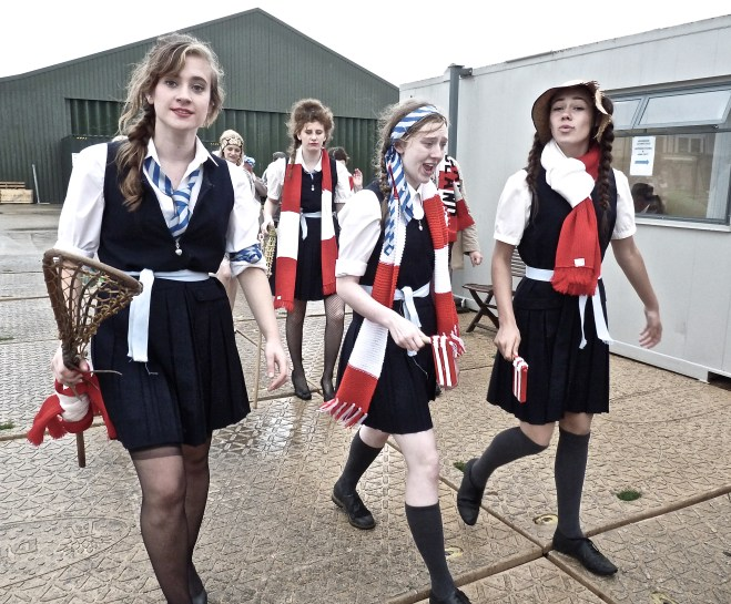 St Trinian's School Girls feature regularly