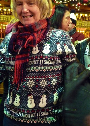 Let It Snow - Christmas jumper night out at the Southampton Christmas Market © Southampton Old Lady