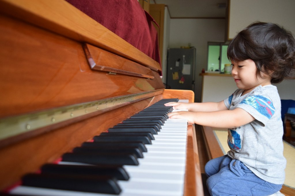 Piano lesson for little ones southampton children kids