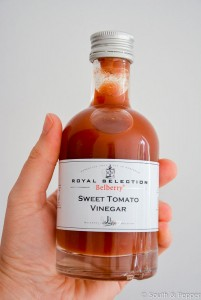 Sweet tomato vinegar
