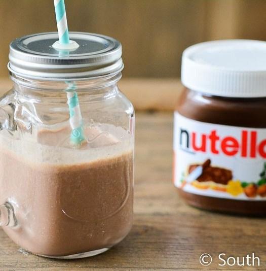 Milkshake met Nutella