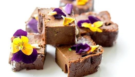 Makkelijke courgette-brownie