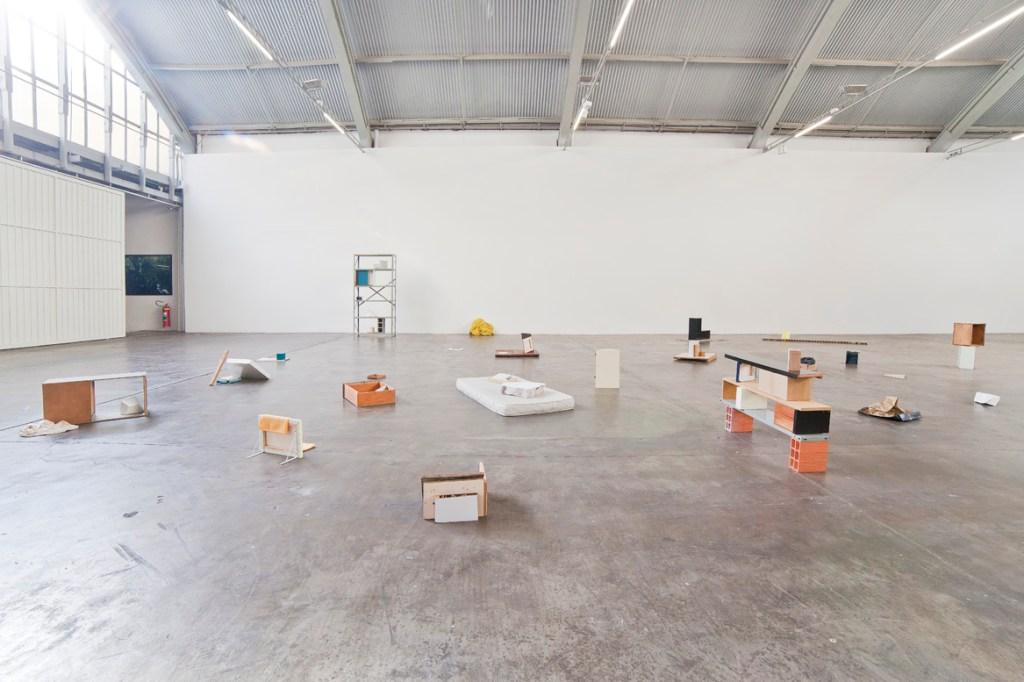 Ricardo Alcaide, Settlements, 2014, installation view. Photo: Filipe Berndt