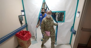 Military medics deploy in California, Texas as virus surges