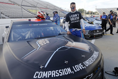 Yes we exist - Black fans eye NASCARs work to diversify