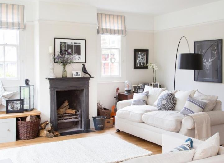 Look Around This Elegant Edwardian House In East Sus The Room. Living Room  After