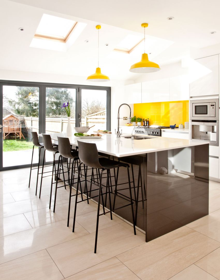 White kitchens with the wow factor the room edit