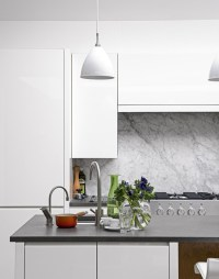 White Kitchens with the Wow Factor - The Room Edit