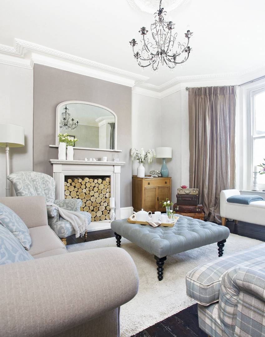 Create a Practical Living Room Suitable for Family Life