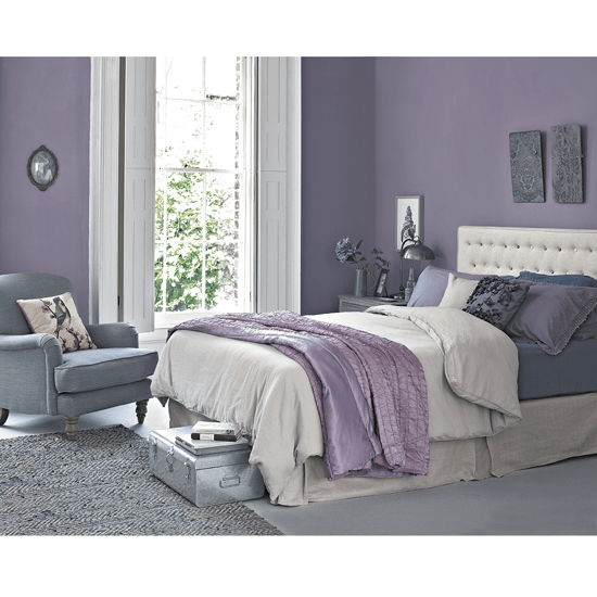 purple and gray bedroom color scheme How to work the Lilac and Grey colour scheme into your home