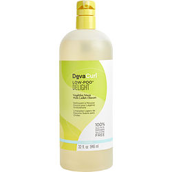 CURL LOW POO DELIGHT WEIGHTLESS WAVES MILD LATHER CLEANSER 32 OZ