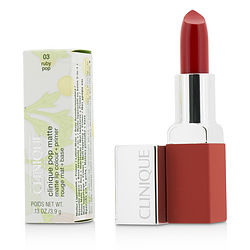 Pop Matte Lip Colour + Primer - # 03 Ruby Pop --3.9g/0.13oz