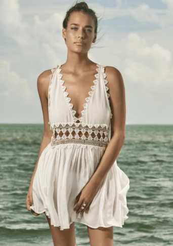 PilyQ Water Lily Celeste Dress | http://bit.ly/2liaCxa