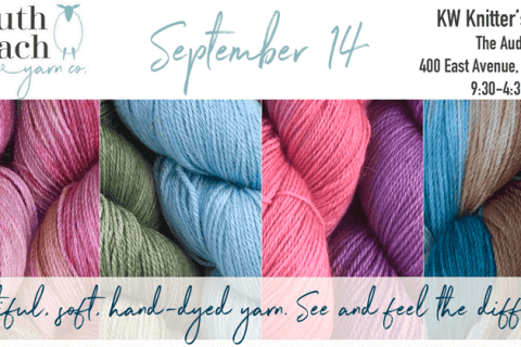 Announcement for KW Knitters' Fair