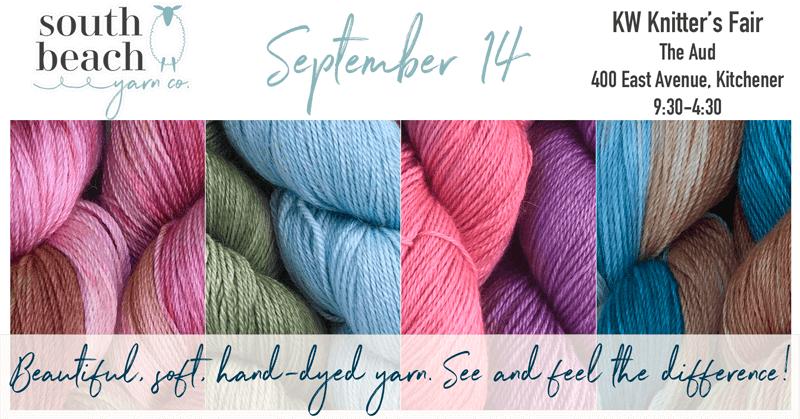 KW Knitters' Fair 2019 Announcement
