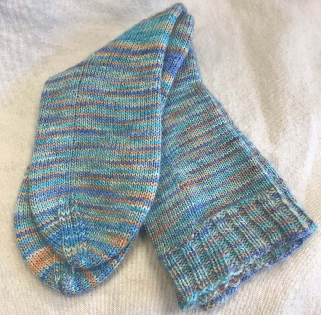 Hand Knit Socks for Taya