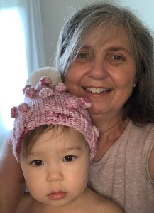 Oma and Grandbaby