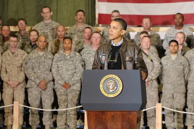 President Obama military